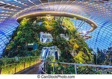 Singapore garden - Singapore is building a flower garden of...