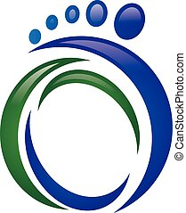 Foot Logo - Logo Template