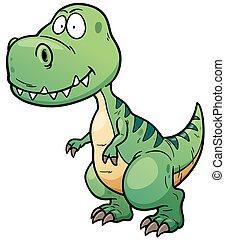Dinosaur - Illustration of Dinosaur cartoon