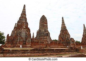 Chaiwatthanaram Temple in Ayutthaya