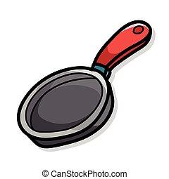 Pan color doodle