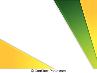 Colorful corporate abstract vector design