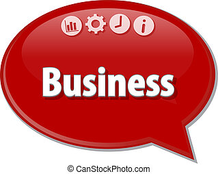 Business   blank business diagram illustration