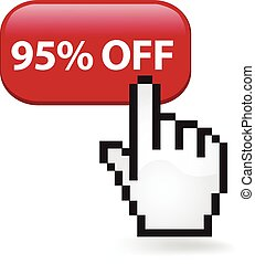 95 Percent Off Button