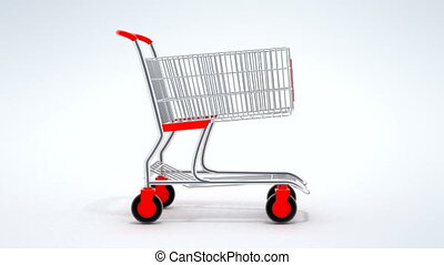 Quick shopping of cart in a market