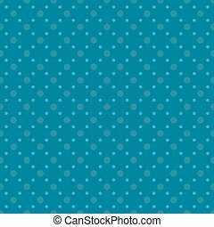 blue dots seamless pattern