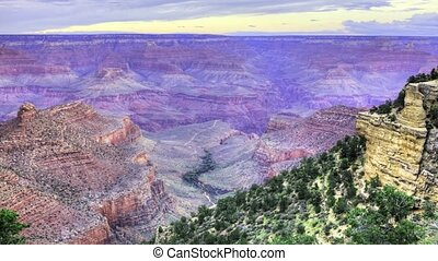 Timelapse of the Grand Canyon
