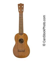 Toy Ukulele Guitar Isolated