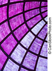 Dynamic abstract violet background pattern of diverging...