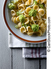 Orecchiette with Cime di Rapa, a Traditional Dish from...