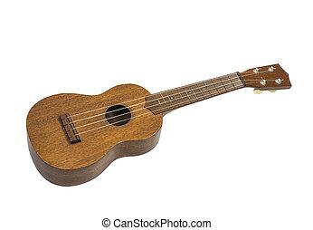Toy Guitar Ukulele Isolated