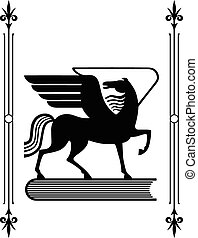 Pegasus - Symbol of Greek mythology the winged horse...