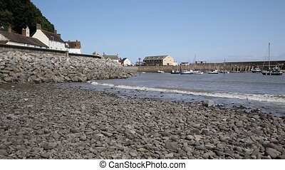 Minehead harbour Somerset PAN - Minehead harbour Somerset...