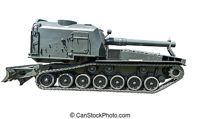 Self Propelled Howitzer - US M55 Heavy Self Propelled...