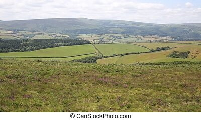 View to Dunkery Hill Somerset uk - View to Dunkery Hill the...