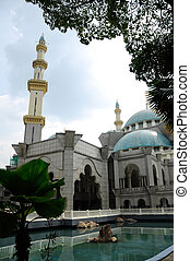 The Federal Territory Mosque located at Kuala Lumpur,...