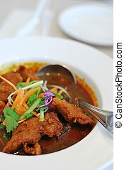 Chinese vegetarian mock chicken curry - Sumptuous looking...