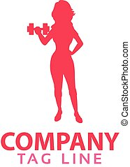 Female Fitness Logo.eps