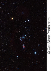 Orion Constellation - Orion constellation and nebula