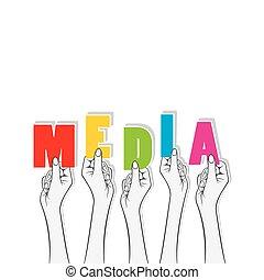 media banner concept design