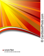 Abstract fantasy corporate background. Vector