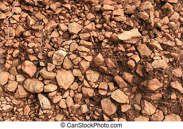 Rocks and Stones as a Background texture