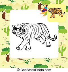 Illustration of tiger