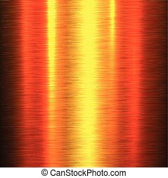 Metal background, polished metallic texture, illustration.
