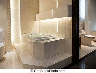 Luxury Master Bathroom - Master Bathroom Interior