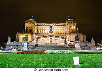 Emmanuel II monument in Rome - Emmanuel II monument and The...