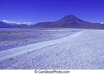 High altiitude Bolivian Altiplano