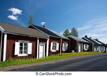 Gammelstad, Lulea, Sweden - Gammelstaden or Gammelstad is a...
