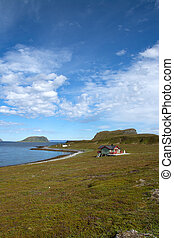 Mageroya, Norway - Mageroya is a large island in Finnmark...