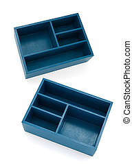 Blue Section Boxes