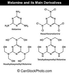 Melamine and its derivatives - Melamine and its main...