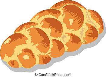 zopf or challah bread