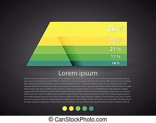 Balda_Temp - Pyramid chart, infographics elements Vector