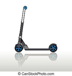 Scooter, illustration