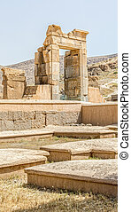 Persepolis - Ruins of old city Persepolis, a capital of the...