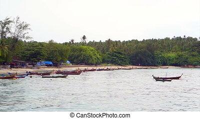 Fishing Boat off the sea coast - Fishing Boat off the Coast...