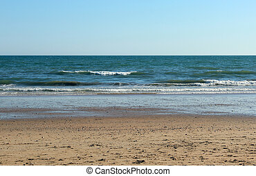 relax beach scene