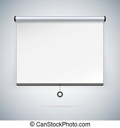 Projection Screen to Showcase Your Projects