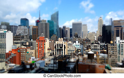 Midtown Manhattan Buildings - Buildings in midtown Manhattan...