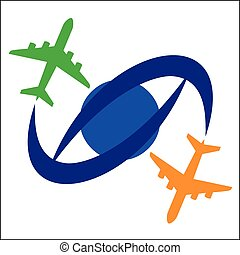 Airplane Travel Symbol