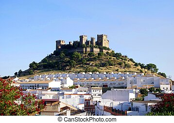 castillo, de, Almodovar, del, Rio, Spain,