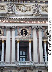 The Opera Garnier in Paris - The Palais Garnier Paris Opera...