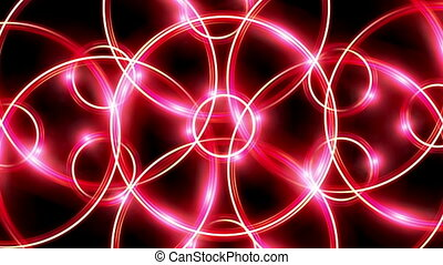 ring flare cross pattern red HD