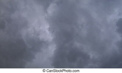 clouds 412 - stormy clouds timelapse
