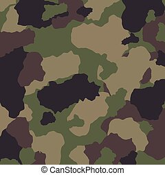 Military camouflage design. - Military camouflage design,...