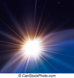 Sun rays design - Sun rays design, vector illustration eps...